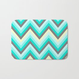 Simple Chevron Bath Mat