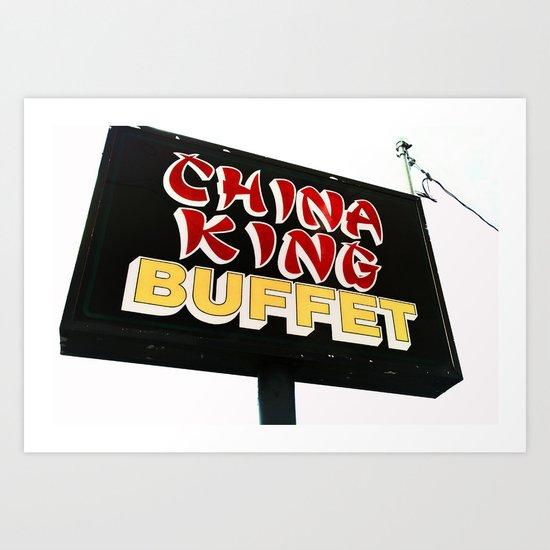 King China Art Print