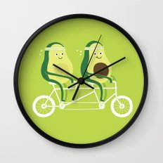 AvoCardio Wall Clock