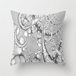 illustrations entwine fractals Throw Pillow