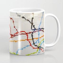 London Lego Underground Map Coffee Mug