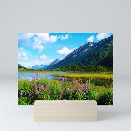 God's Country - Summer in Alaska Mini Art Print