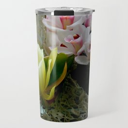 Heavenly May Flowers, Looking Up Travel Mug