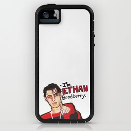 I'M ETHAN BRADBERRY H3H3 meme in oil pastel iPhone Case