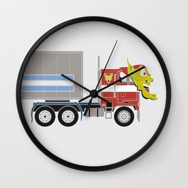 Robot's Wrong Disguise Wall Clock