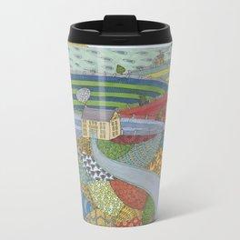 island patchwork Travel Mug