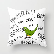Conure Throw Pillow
