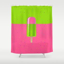 Ice Stick Party Shower Curtain