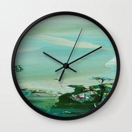 Emerald Shores 2 Wall Clock