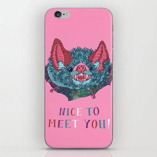 Nice to Meet You! iPhone & iPod Skin