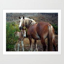 Wyoming Ranch Hands Art Print