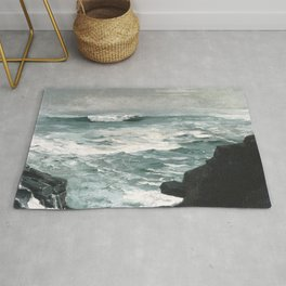 A visit to Winslow Homer's Cannon Rock Rug