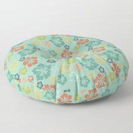 Hibiscus Love Floor Pillow
