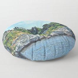 Taormina, Sicily II Floor Pillow