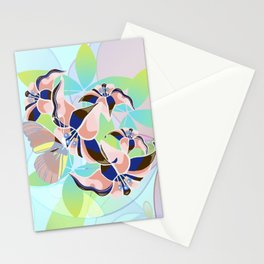 Tanz der Lilien - Dance of the Lilies Stationery Cards