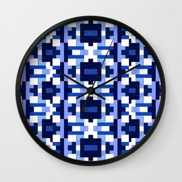 Gridlock Wall Clock