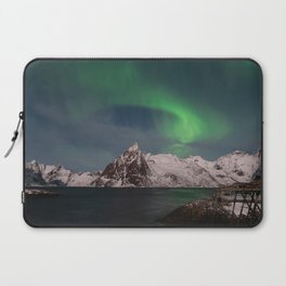 Luck & Patience in the Arctic Laptop Sleeve
