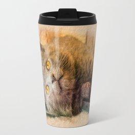 KITTEN RELAX Travel Mug