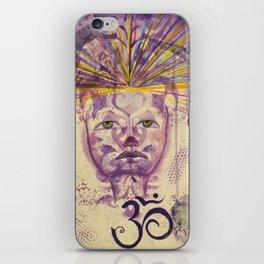 Crown Chakra - Gold Lotus Oracle Series iPhone Skin