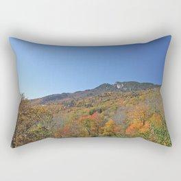 Autumn Forest under a Blue Sky, Vertical Rectangular Pillow