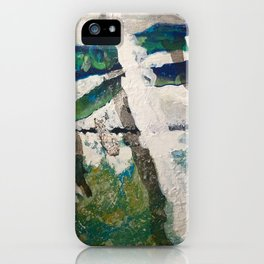Polar Bear Going Home iPhone Case