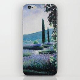 Lavender Garden iPhone Skin