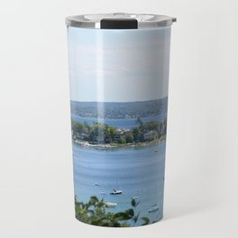 Harbor Springs Bay, View from Bluff (2) Travel Mug