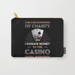 Funny Poker Casino | Gambling Gift Carry-All Pouch