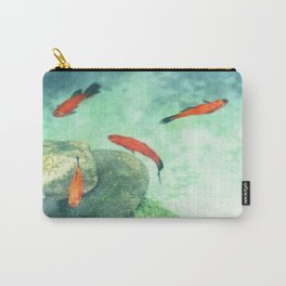 Fish watercolor III Carry-All Pouch