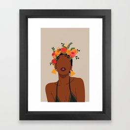 Crown Framed Art Print