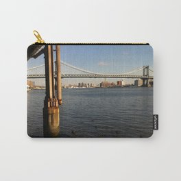 NYC East River | Manhattan Bridge Carry-All Pouch