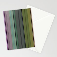 Striped pattern 1. Vertical stripes . Stationery Cards