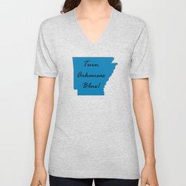 Turn Arkansas Blue! Vote Demorcrat Liberal! 2018 Midterms Unisex V-Neck