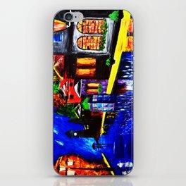 Tardis Phone Both Starry Night iPhone Skin