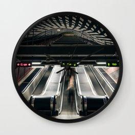 Kungsträdgården Metro Station in Stockholm, Sweden V Wall Clock
