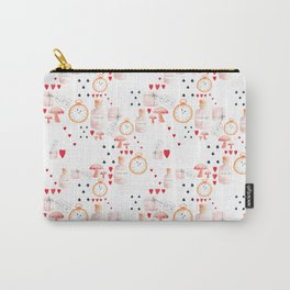 Alice in Wonderland - White Dream Carry-All Pouch