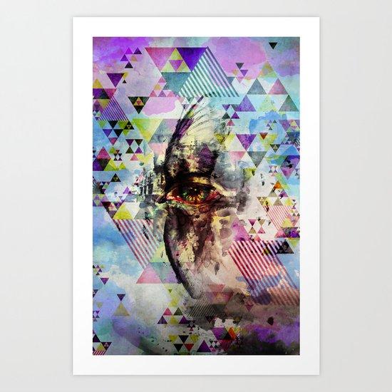 Cry bird Art Print