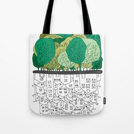 SCONFINAMENTI-CITY AND NATURE Tote Bag