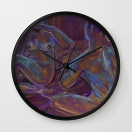 Nude Couple 1 Wall Clock