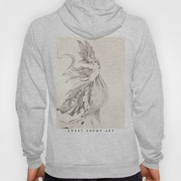 Fin and Feather Gown Hoody