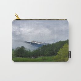 Alpine Forest with Matterhorn in the Distance Carry-All Pouch