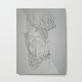 Mi Amor Metal Print