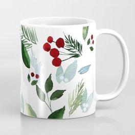 Blue Christmas Kaffeebecher