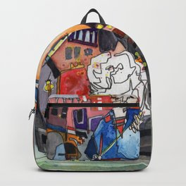 Lovers in Venice Backpack
