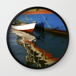 Water Colour Wall Clock