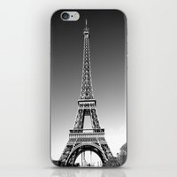 eiffel iPhone & iPod Skins featuring eiffel by Michelle Loidl