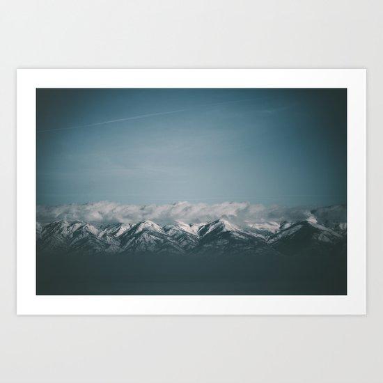 Wasatch Mountains Art Print
