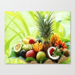 nice fruits Canvas Print