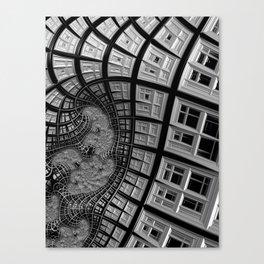 Windows of Perception Canvas Print
