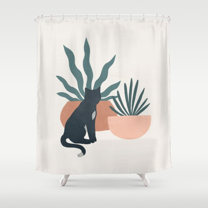 flora and fauna Shower Curtain